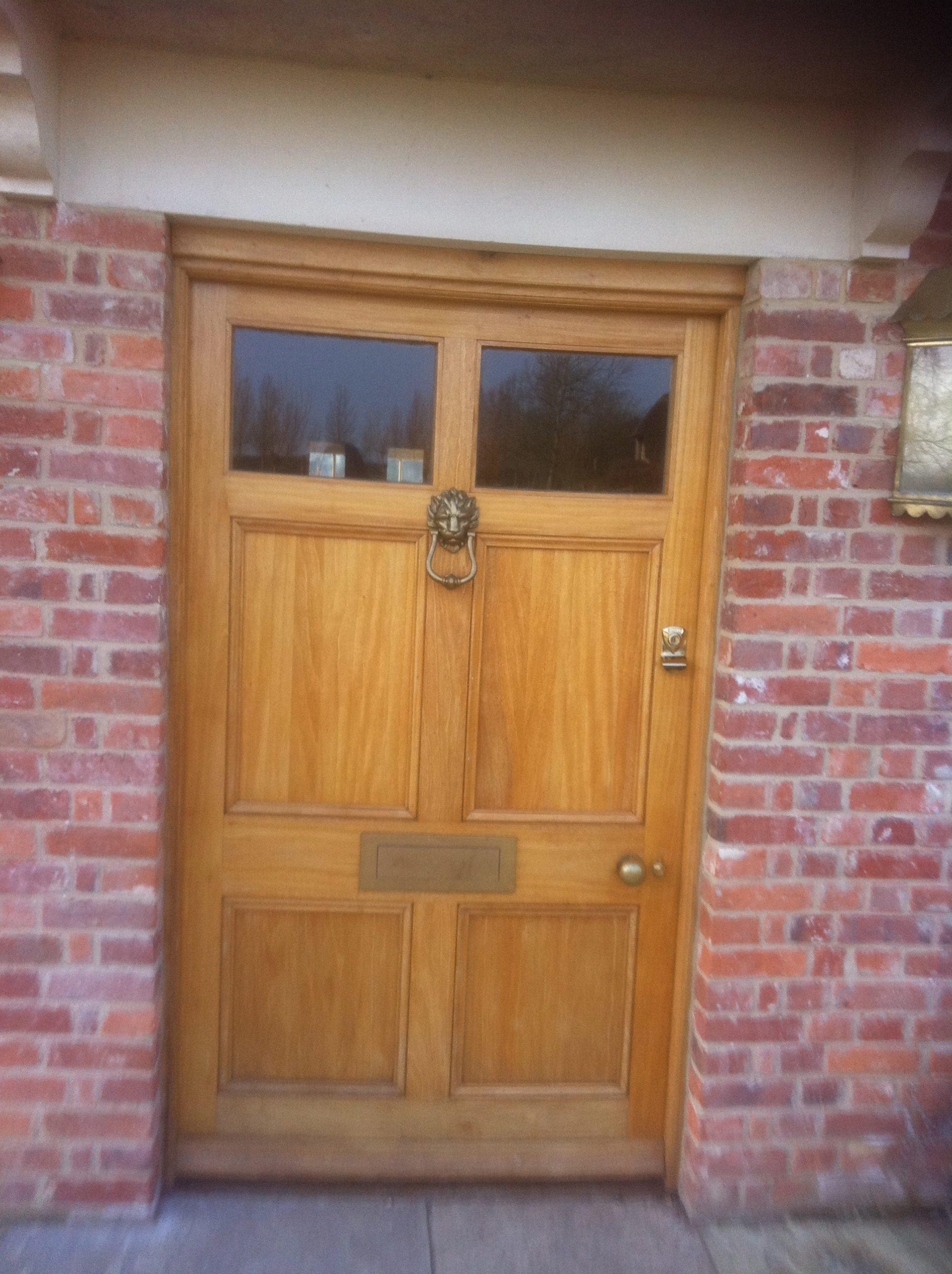 Bespoke Front Door Bpd Joinery Carpentry